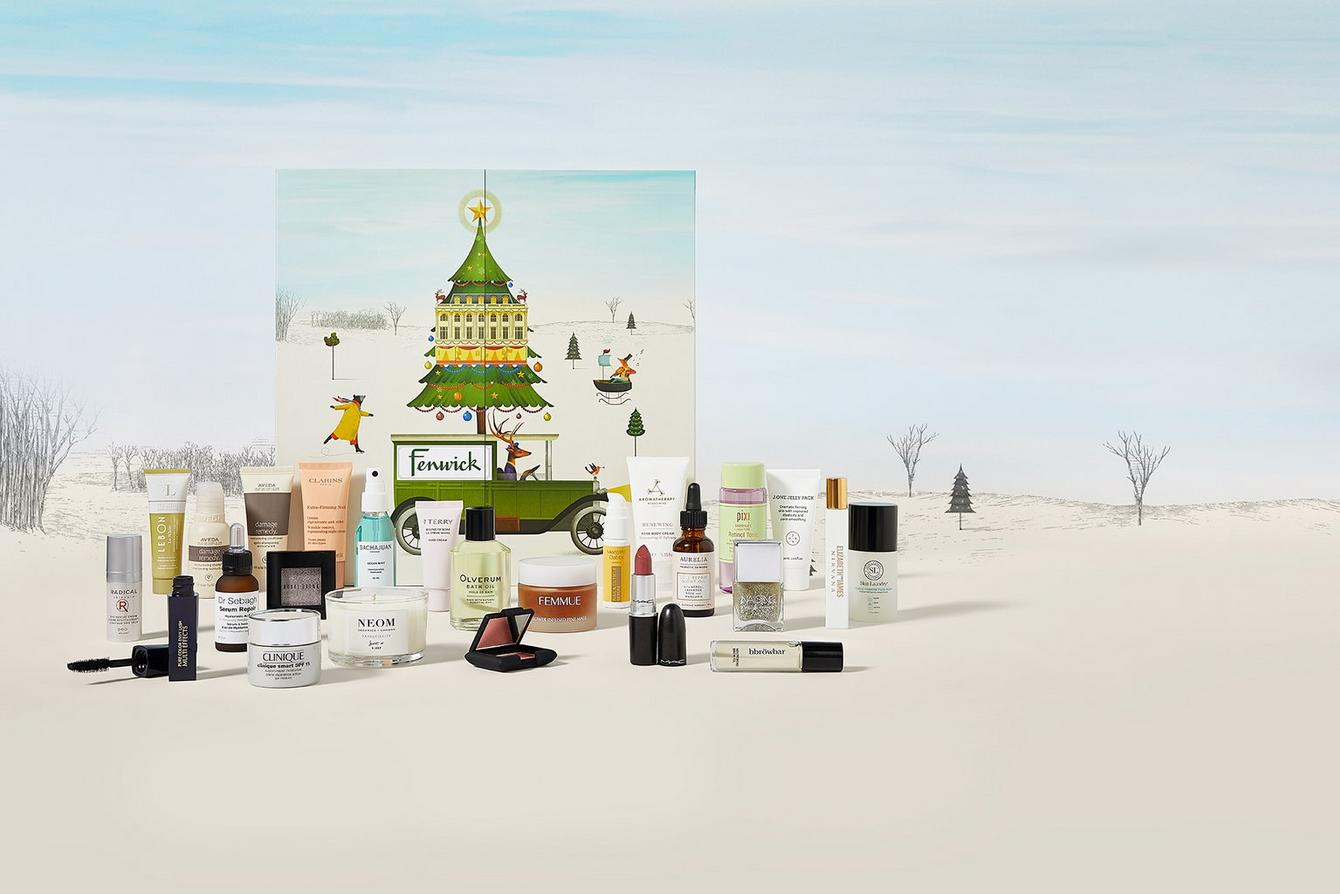 Fenwick Advent Beauty Calendar 2018 Campaign