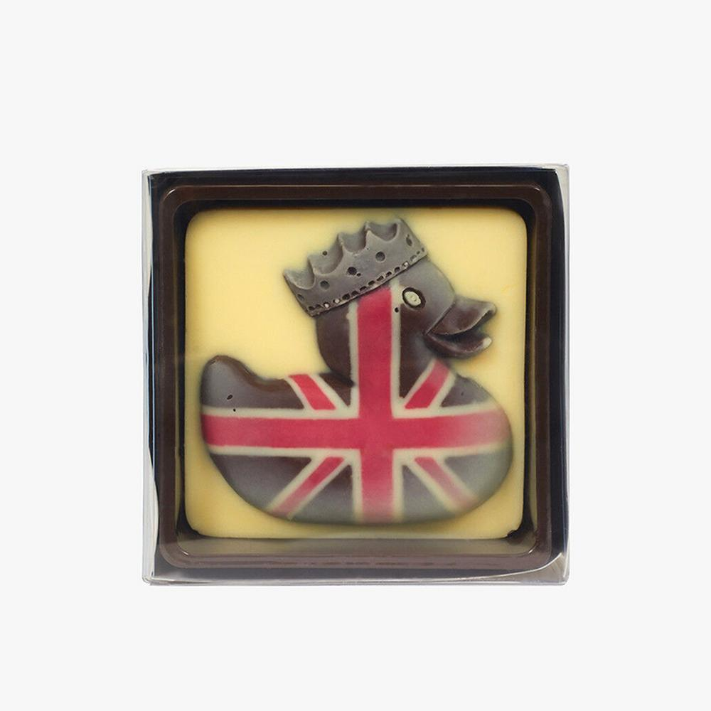Choc On Choc Union Jack Duck Dark