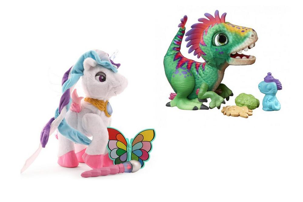 Vtech Fantasy Unicorn Fur Real Friends Rex Dino