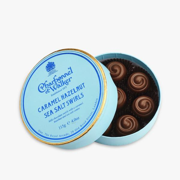 Charbonnel Walker Caramel Hazelnut Sea Salt Swirls