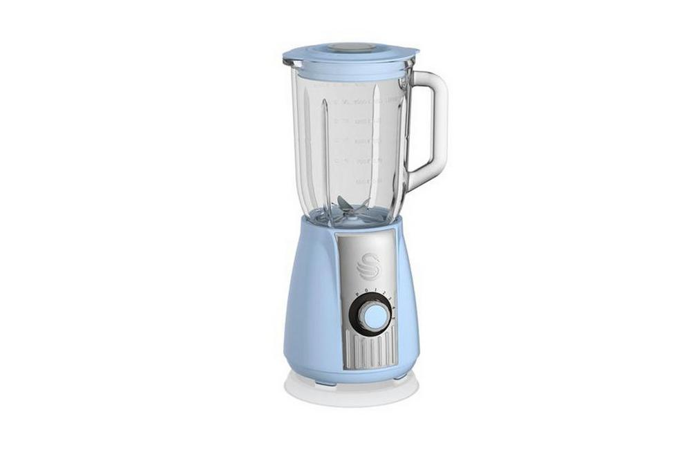 Swan Retro Blue Blender