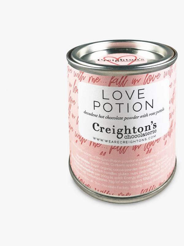 creightons love potion hot chocolate