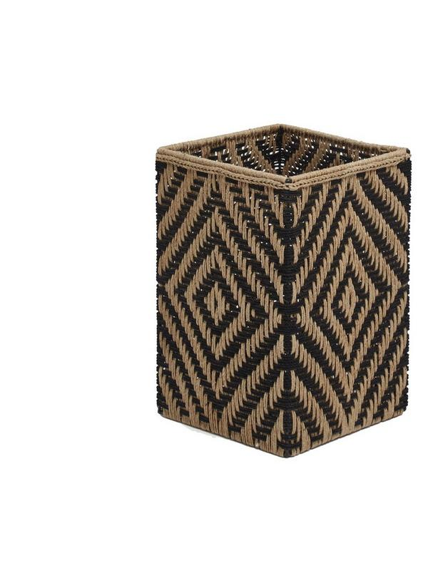 french connection jute wicker laundry basket