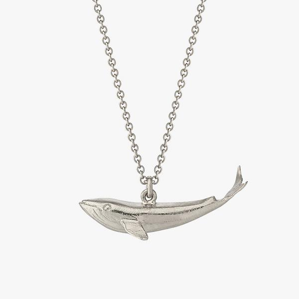 alex monroe whale necklace