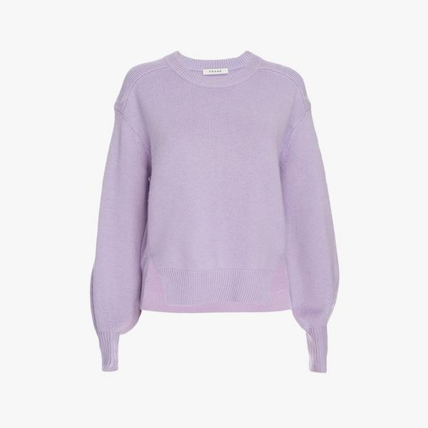 frame favender swing sweater