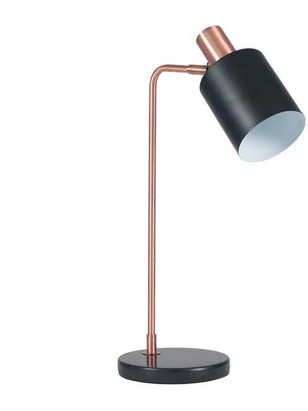pacific copper table lamp