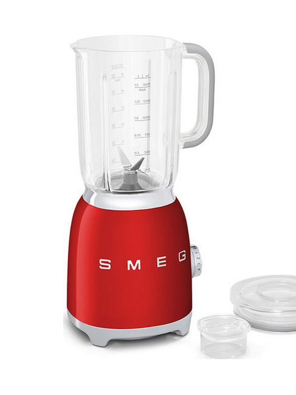 smeg blender in red