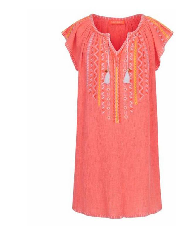sunuva pink kaftan cover up