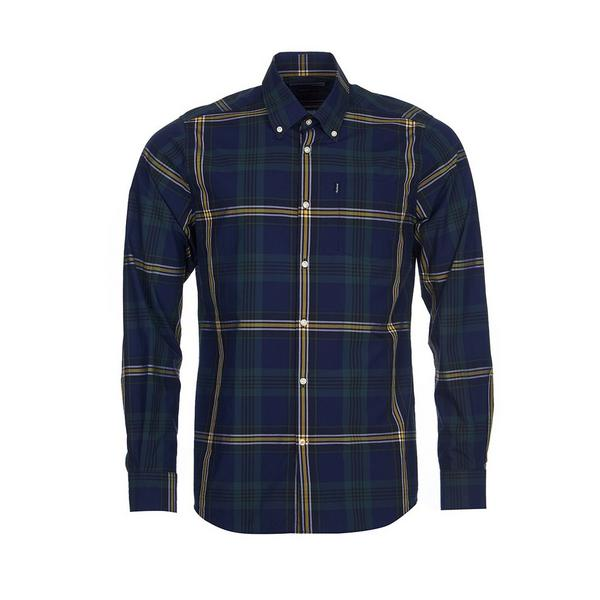 Barbour Oscar Tailor Shirt in forest green