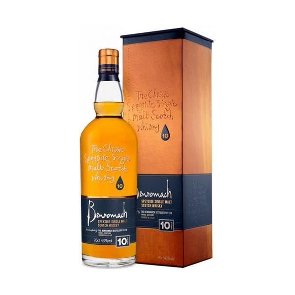 Benromach 10 Year Old Whiskey