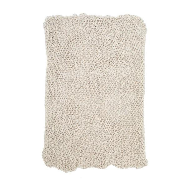 french connection chunky knitted throw