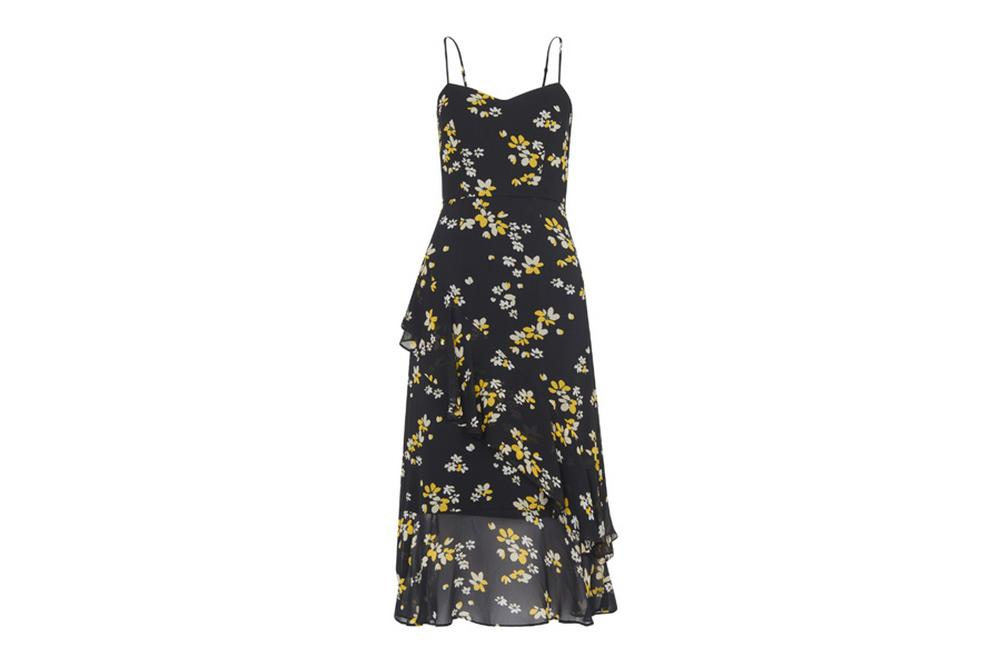 whistles lottie amber strappy floral dress