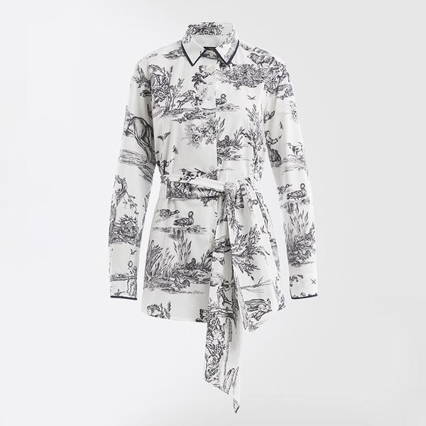 weekend max mara anemone shirt