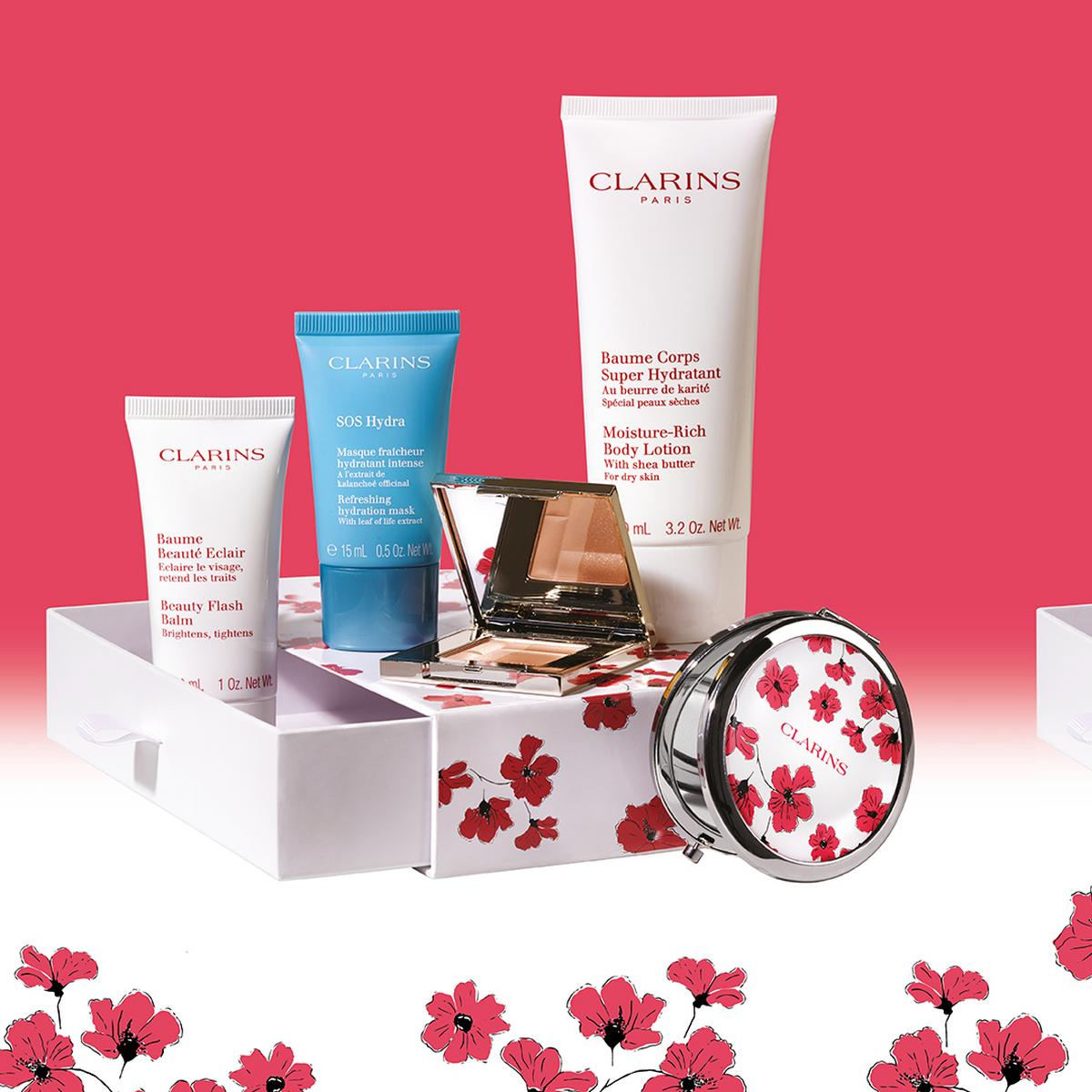 Exclusive Clarins Beauty Gift