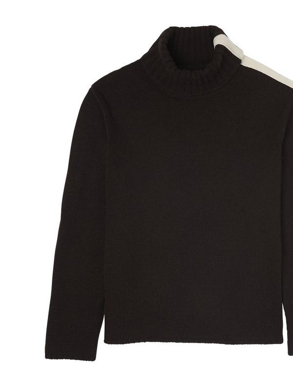 gillian anderson cashmere roll neck jumper