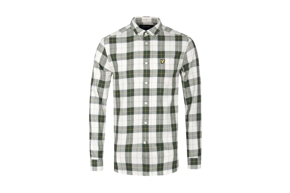 lyle and scott checked shirt