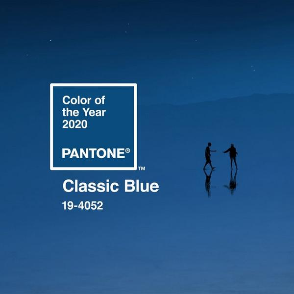 patone classic blue colour of the year 2020