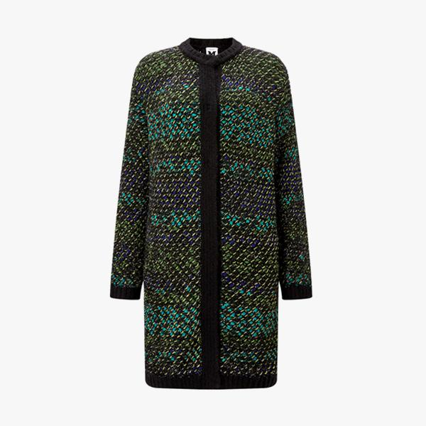 M Missoni Chunky Knit Coat