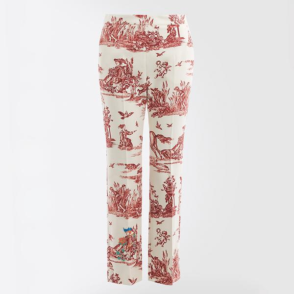 weekend max mara tremiti trouser red