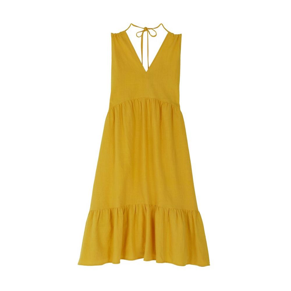 Mih jeans yellow lita dress
