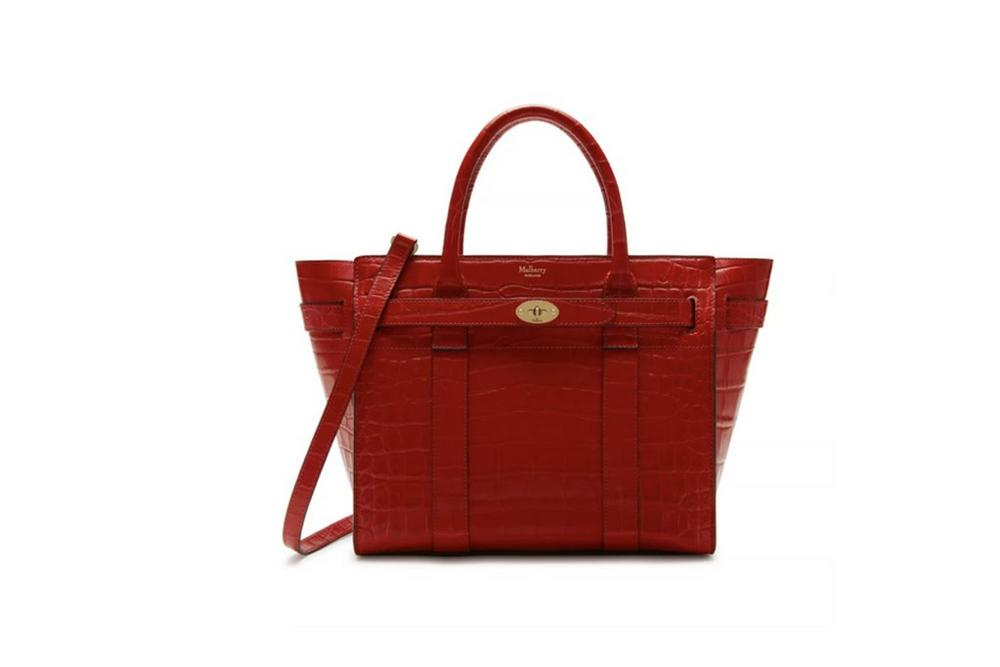 mulberry bayswater in red