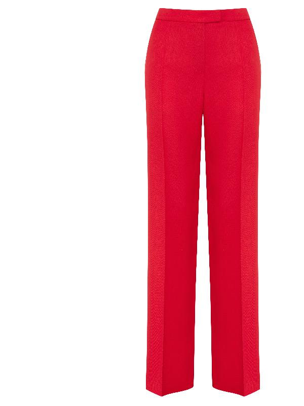 pallas suit trousers in red