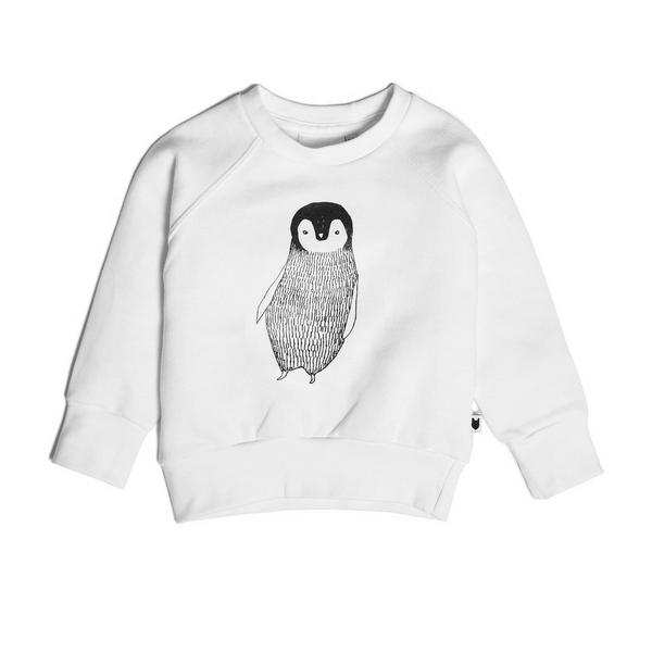 tobias and the bear percy the penguin sweatshirt