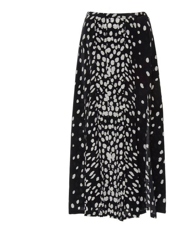 rixo georgia skirt in leopard print