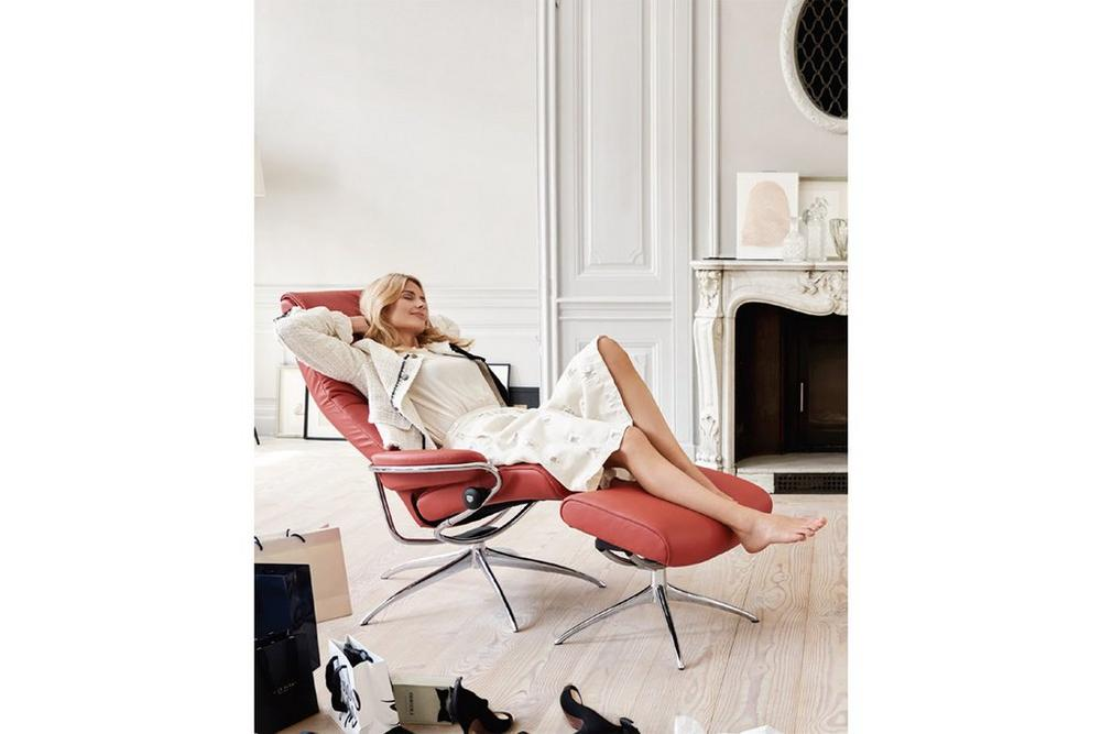 Stressless London High Back Chair