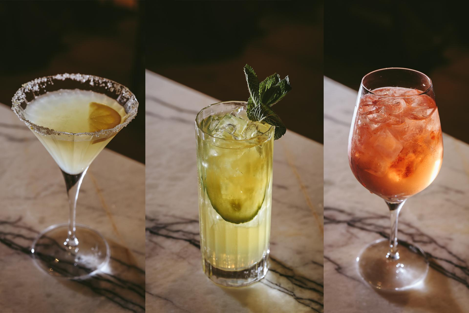 3 summer cocktails from Fuego