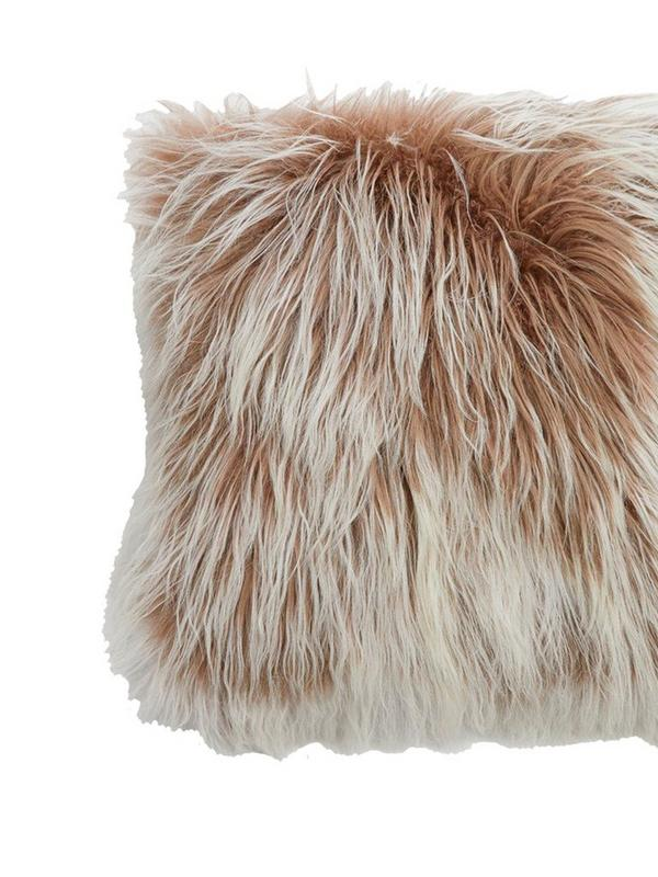 french connection tipped cashmere cushion