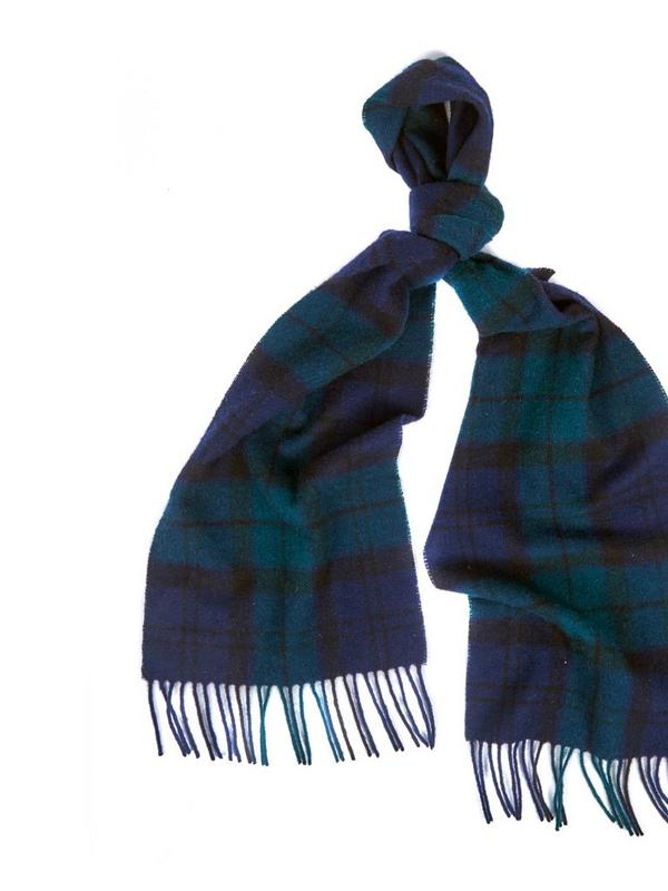 Fenwick Exclusive Barbour Black Watch Tartan Scarf