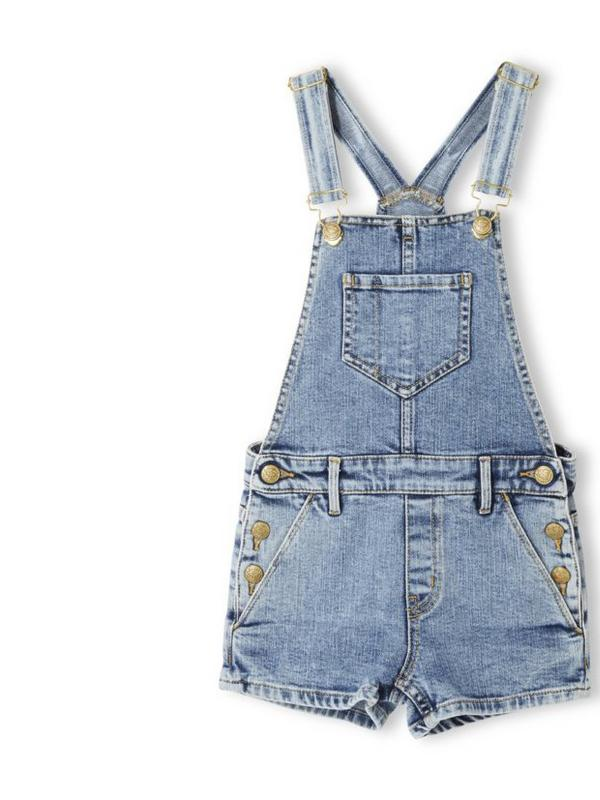 Finger in the Nose Blue Yumi Denim Dungarees