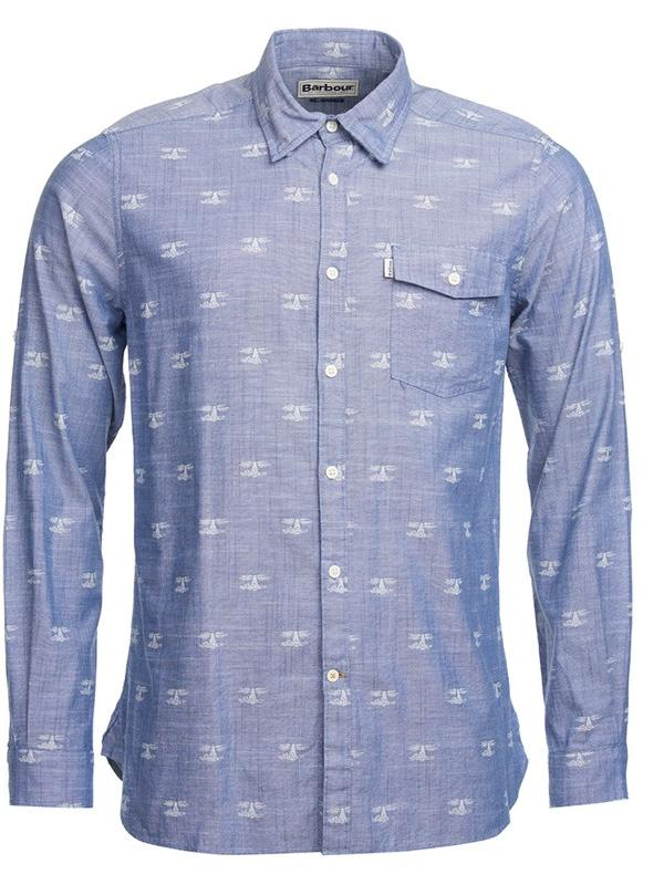 Barbour Beacon Print Tailored Shirt