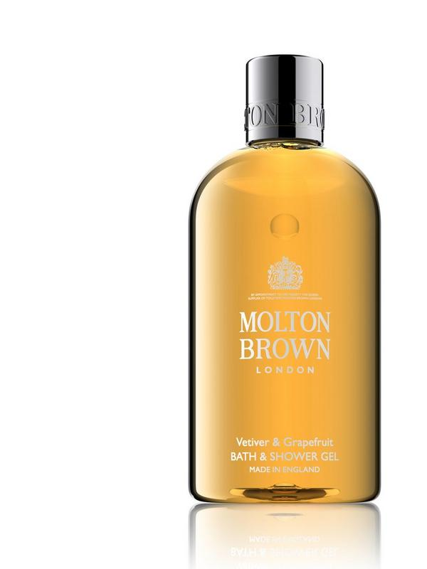 molton brown vetiver & grapefruit shower gel