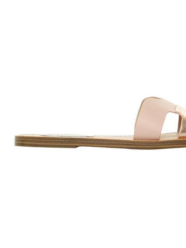 steve madden blush lisa slider sandals