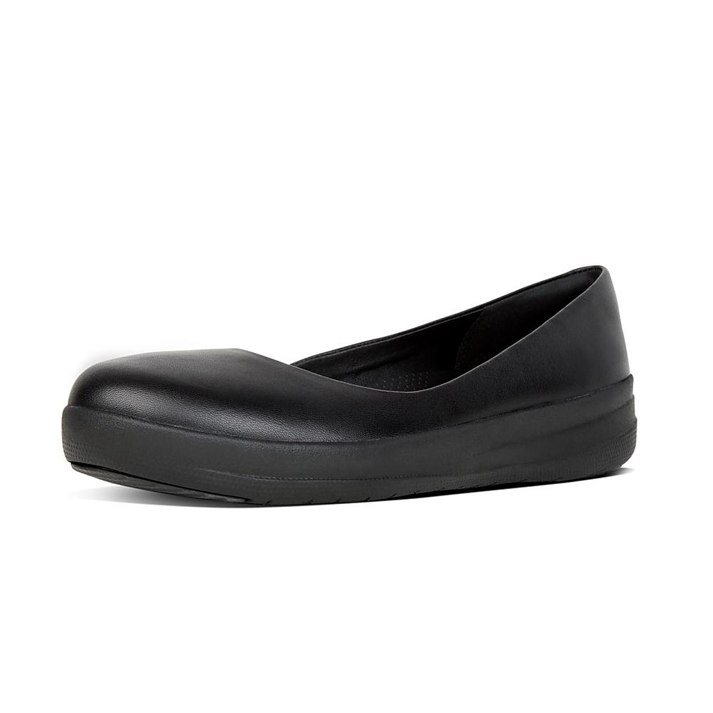 Browse For Fitflop Due Leather Womens Ballet Flatsv