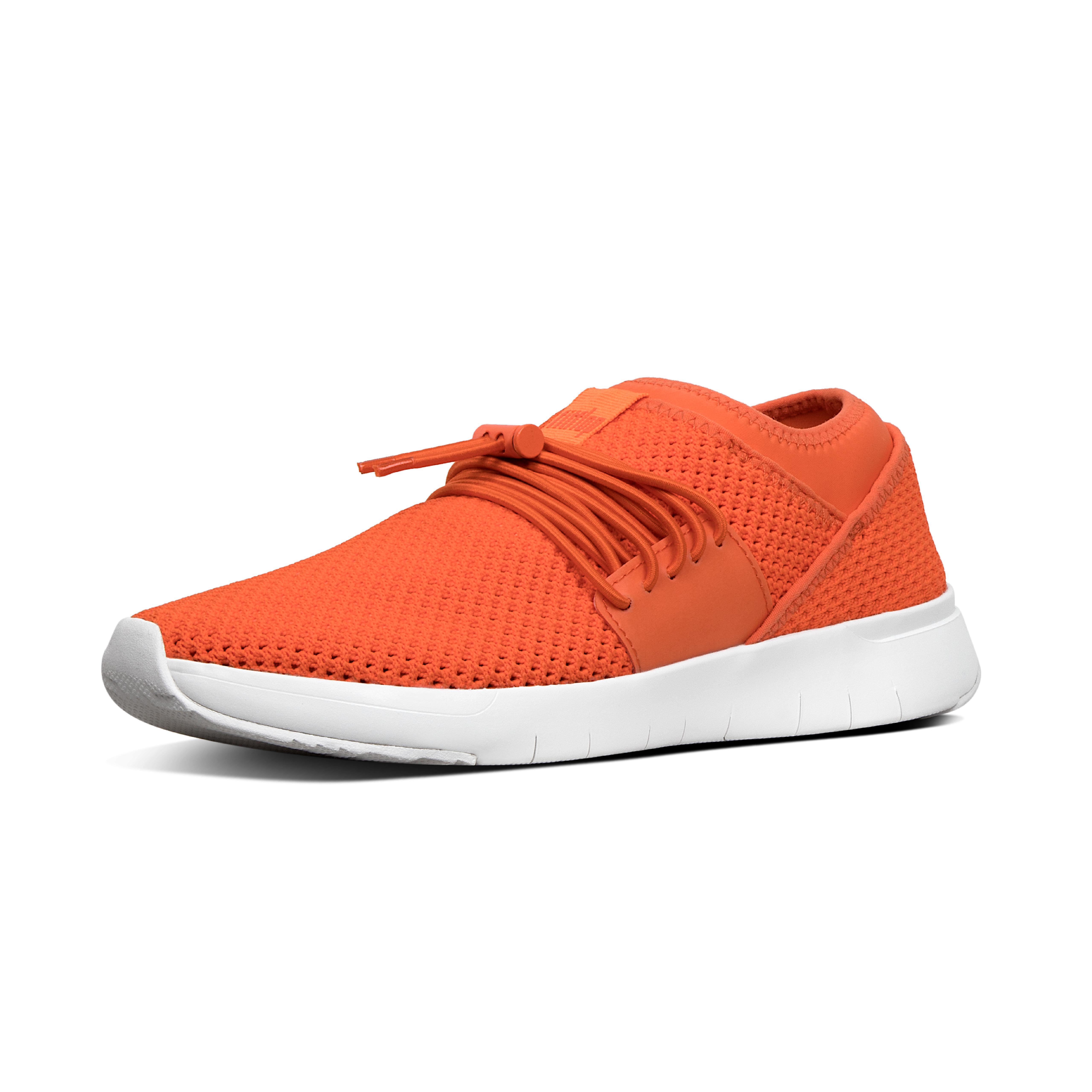Airmesh lace up sneaker neon orange r64 694?v=3