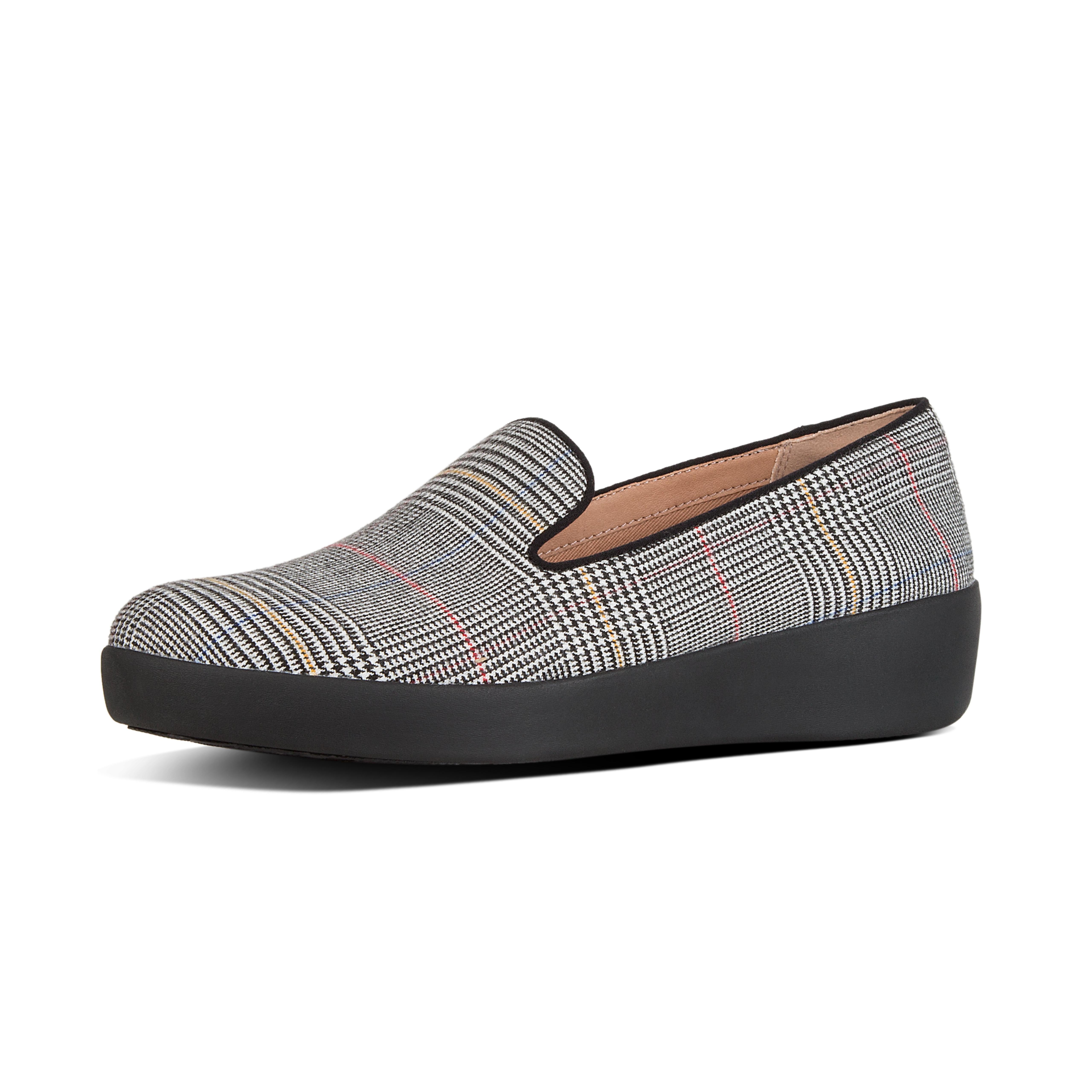 Audrey check slipper concrete w05 724?v=3