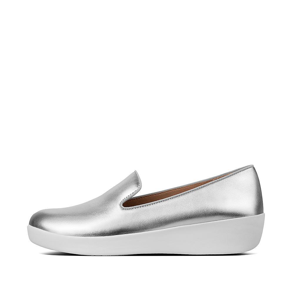 Audrey smoking slipper silver m96 011