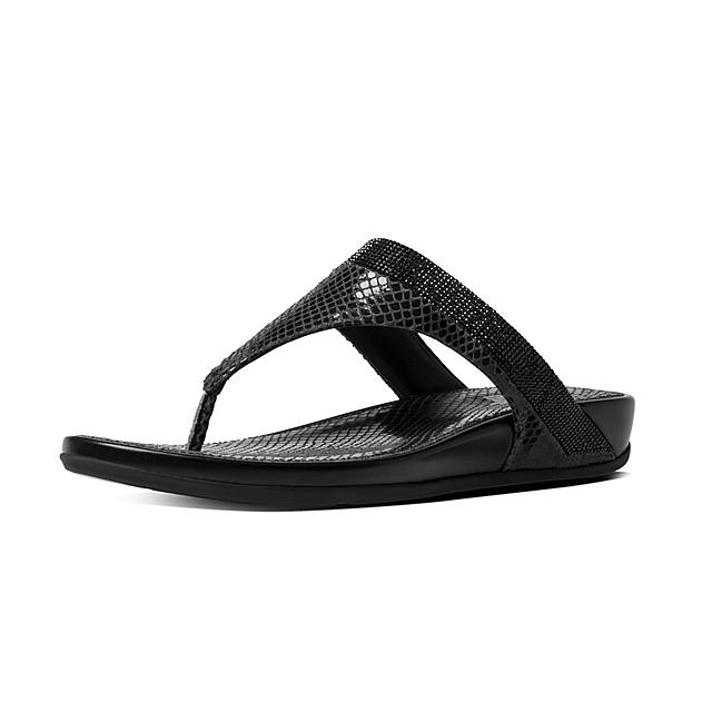 f60c6628f5fe7 Fitflop™ Women s Banda Leather Slide Black