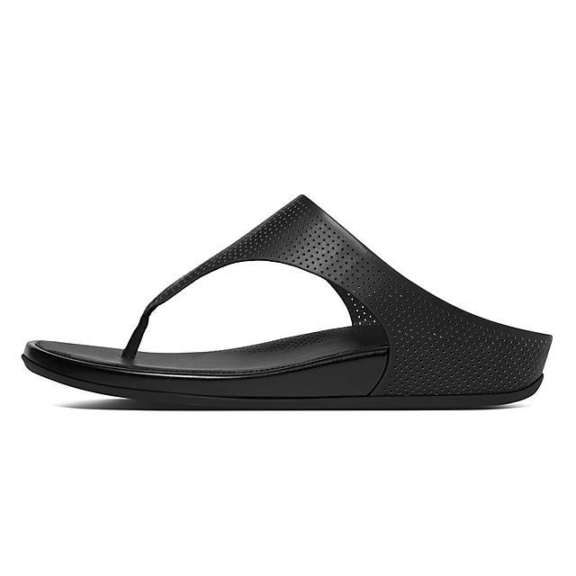 226ccb39b328 Fitflop™ Women s Banda Leather Toe-Thongs Black