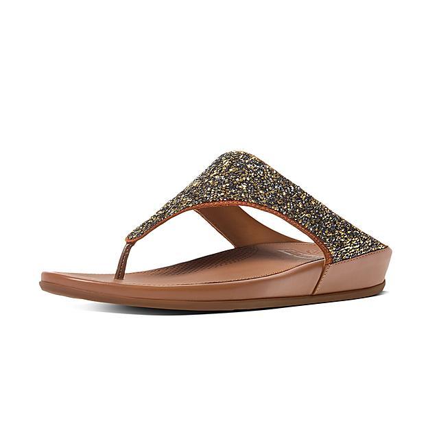 665acf857 Fitflop™ Women s Banda Microfibre Toe-Thongs Bronze