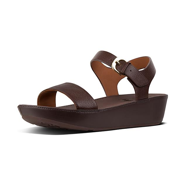 6cab97e923fe Women s BON-II Leather Back-Strap-Sandals