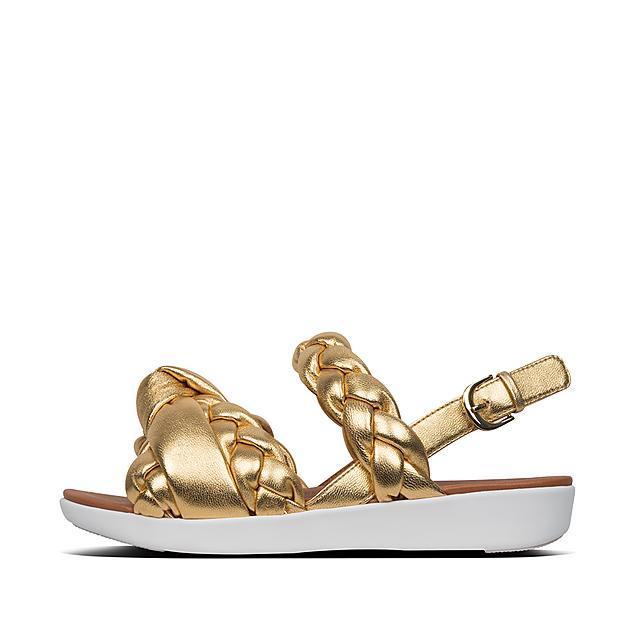 1cc626002dcc Women s BRAID Leather Back-Strap-Sandals