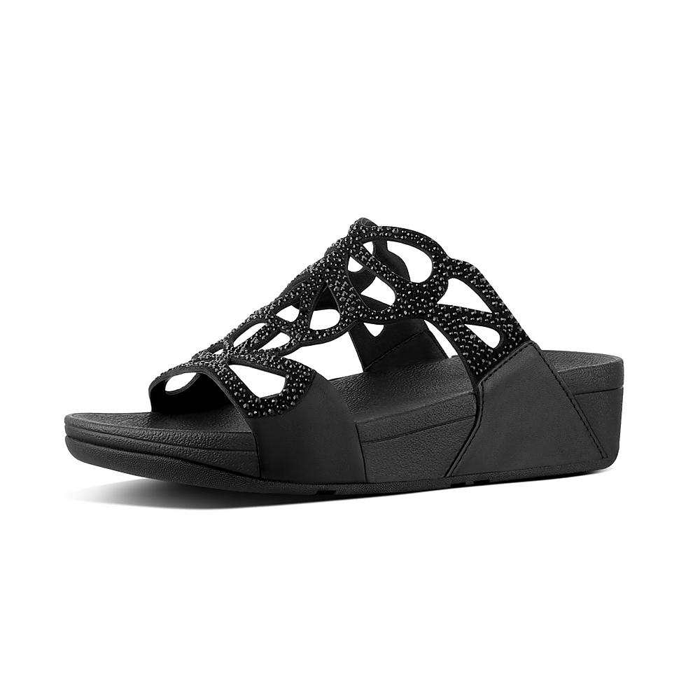 FitFlop Women's Bumble Wedge Slide Sandal