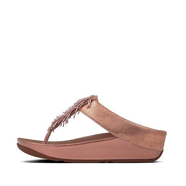 8ec5cbfa8 Women s CHA-CHA Leather Toe-Thongs