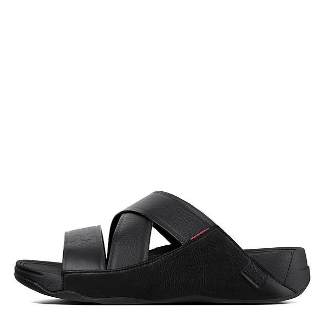 169798253 CHI. Leather Slide Sandals