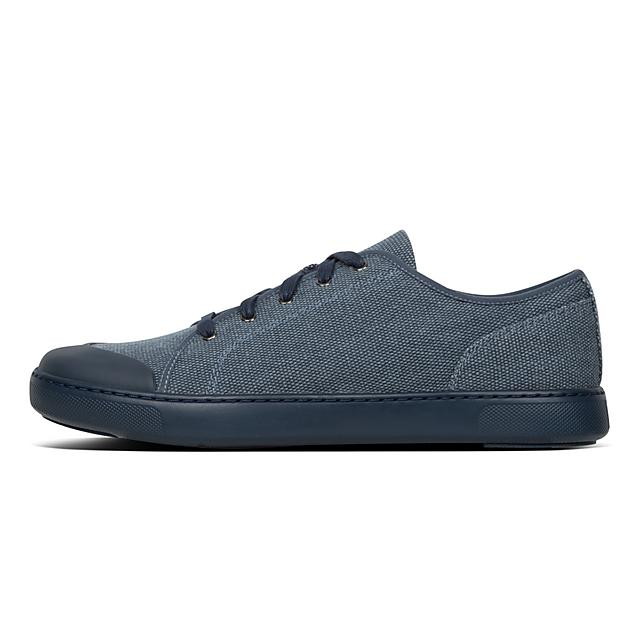 Sneakers Bleu Texture Cap NuitFitflop Eu Christophe Toe Canvas TZiuwOkXP
