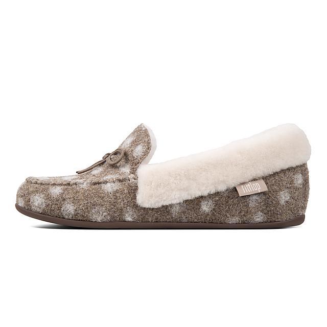 ca3dd909125d47 Women s CLARA Wool-Shearling Slippers